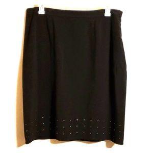 Black dressbarn skirt